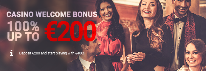 Welcome bonus 200%